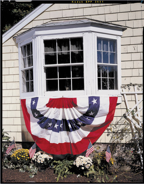 <big>Patriotic Pleated Fans</font></big>
