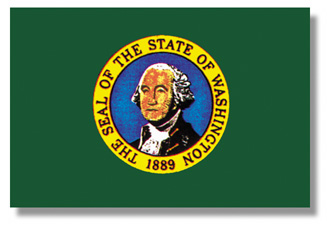 <big>Washington State Flag</font></big>