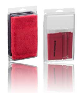 Brillianize Microfiber Polishing Cloth Combination with 3 Travel Size Microsuede Cloth