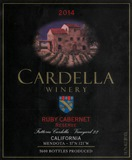 2014 Cardella Winery Ruby Cabernet - Reserve