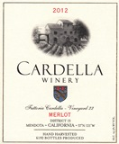 2012 Cardella Winery Merlot