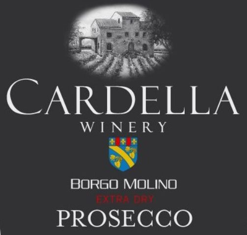 Cardella Winery Prosecco MAIN