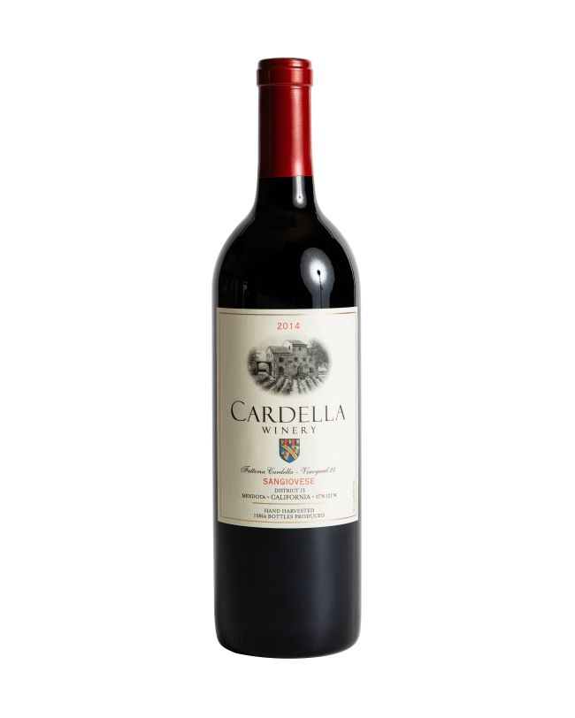 2014 Cardella Winery  Ruby Cabernet MAIN