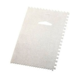Aluminum Decorating Comb / Icing Smoother LARGE
