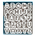 Ateco Alphabet Cutter Set