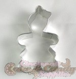 Gingerbread Girl Cookie Cutter - 3""