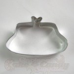 Ladies Clutch Purse Cookie Cutter