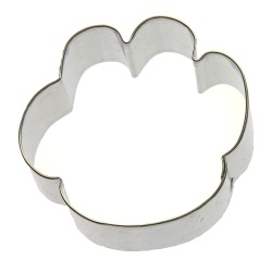 Paw Print Cookie Cutter LARGE
