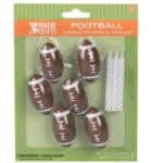 Football Wax Candleholders
