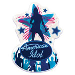 American Idol Cake Top Decoration