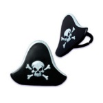 Pirate Hat Cupcake Rings THUMBNAIL