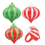 Christmas Ornament Rings - Assorted