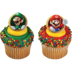 Super Mario & Luigi Rings LARGE