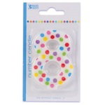 Polka Dot #8 Birthday Candle THUMBNAIL