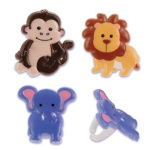 Zoo Animals Rings