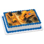 Construction Site Cake Set