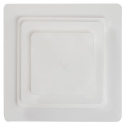 "SPS White Separator Plate - 9"" Square LARGE"