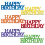 Happy Birthday Script Assortment THUMBNAIL