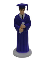 Male Graduate - Royal Blue Robe