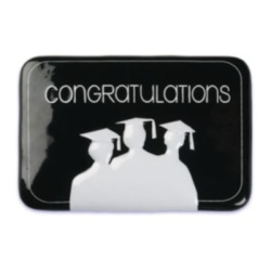 Congratulations Grad Cake Top Decoration_LARGE