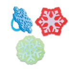 Snowflake Rings - 3 Colors
