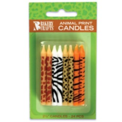 Animal Print Candles LARGE