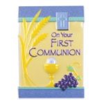 1st Communion Cake Top Decoration