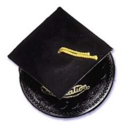 Graduation Hat - Black