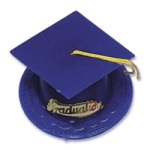 Graduation Hat - Royal Blue
