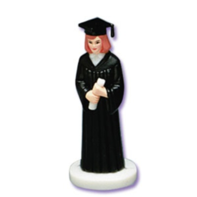 Female Graduate - Black Robe