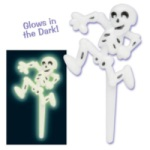 Skeleton Picks - Glow in the Dark