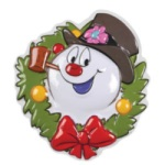 Frosty Wreath Cake Topper THUMBNAIL