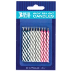 Magic Re-Light Candles - 10 Ct. LARGE