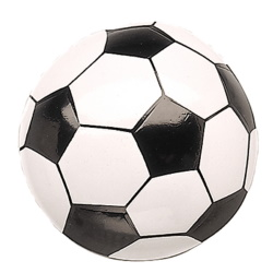 Soccer Ball Cake Top Decoration LARGE