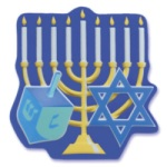 Hanukkah Cake Top Decoration