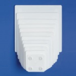 "SPS White Separator Plate - 8"" Square"