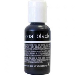 Chefmaster Liqua-Gel Color - Coal Black LARGE