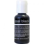Chefmaster Liqua-Gel Color - Coal Black THUMBNAIL