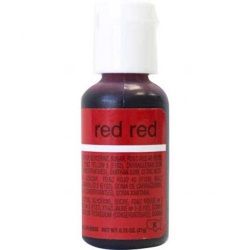 Chefmaster Liqua-Gel Color - Red Red LARGE