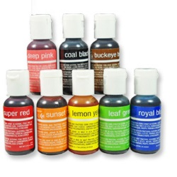 Chefmaster Liqua-Gel Food Color Set