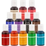 Chefmaster Liqua-Gel Color - 12 Color Set