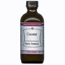 LorAnn Coconut Bakery Emulsion - 4 oz. LARGE