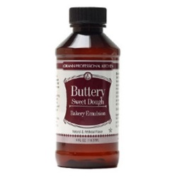 LorAnn Buttery Sweet Dough Bakery Emulsion - 4 oz.