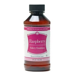 LorAnn Raspberry Bakery Emulsion - 4 oz. LARGE