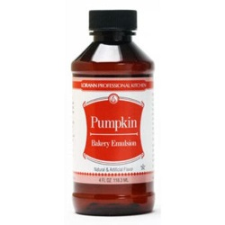 LorAnn Pumpkin Spice Bakery Emulsion - 4 oz. LARGE
