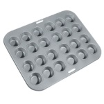 Non-Stick 24-Cavity Mini Muffin Pan THUMBNAIL
