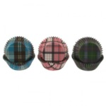 Standard Baking Cups - Plaid Assortment
