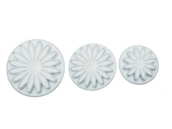 Sunflower Plunger Cutters - 3 pc. Set