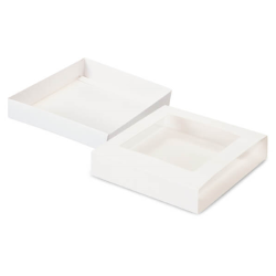 Candy Box - 2-Piece Slide - White LARGE