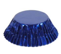 Standard Baking Cups - Foil - Blue